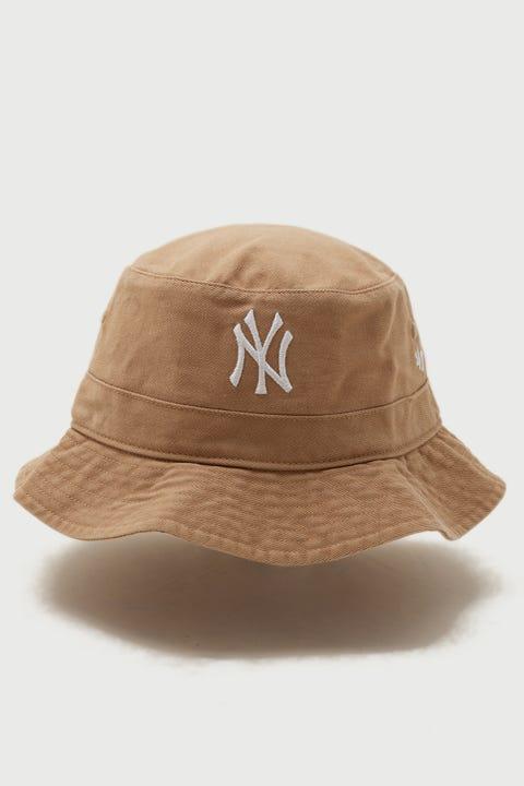 47 Brand Bucket Hat NY Yankees Khaki