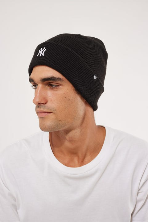 47 Brand Centerfield Cuff Knit NY Yankees Black