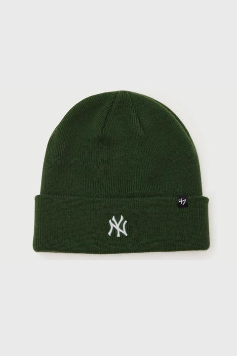 47 Brand Centerfield Cuff Knit NY Yankees Dark Green