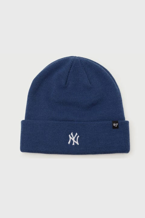 47 Brand Centerfield Cuff Knit NY Yankees Timber Blue