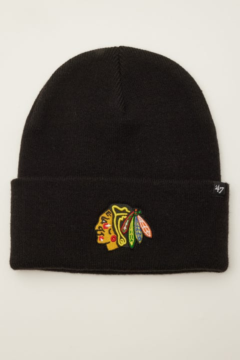 47 Brand Haymaker Beanie Chicago Blackhawks Black