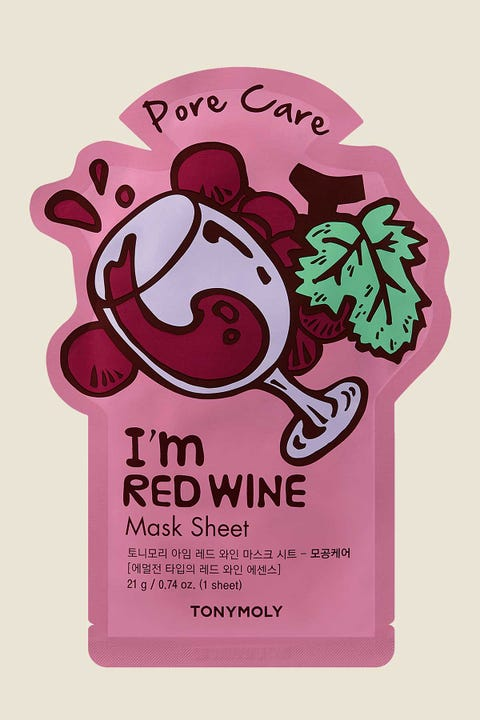 Tonymoly I'm Red Wine Mask Sheet