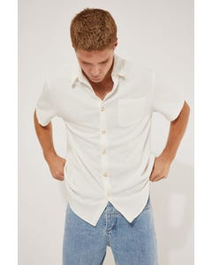 Common Need Sail Knitted Shirt White