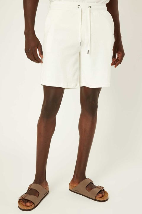 COMMON NEED Terry Towelling Short Off-White