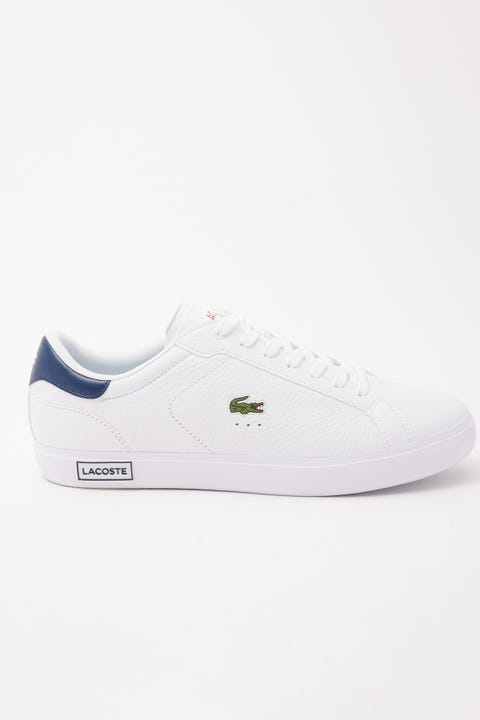 Lacoste Powercourt White/Navy/Red