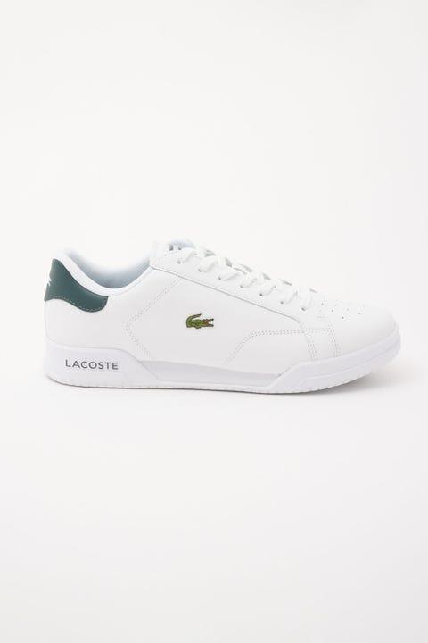 Lacoste Twin Serve White/Dark Green