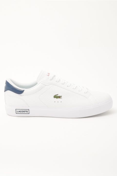 Lacoste Powercourt 0721 2 SFA Wht/Nvy/Red
