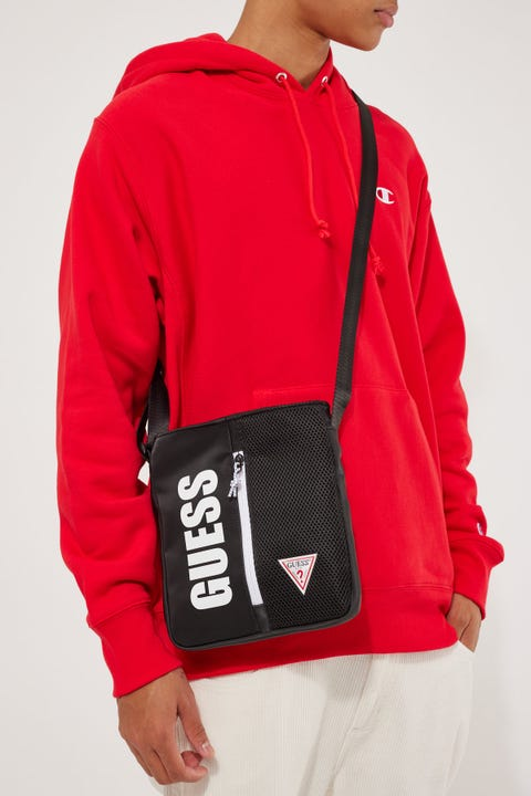 Guess Originals Champs Crossbody Black