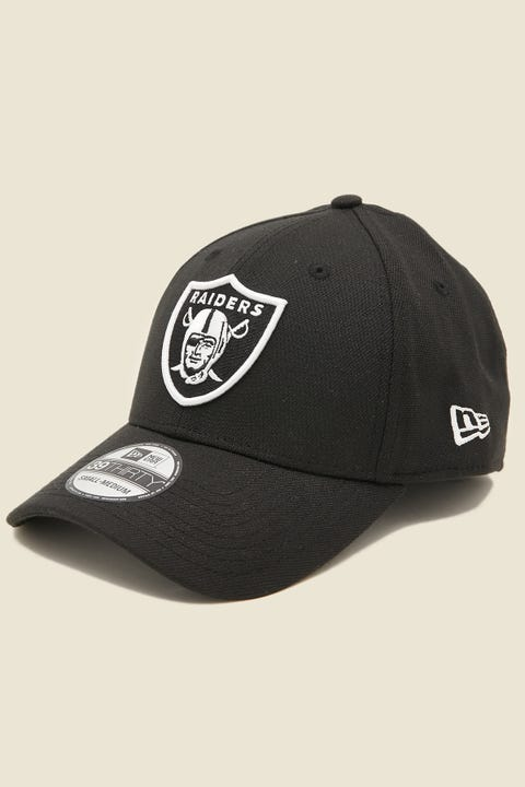 NEW ERA 39Thirty Stretch Raiders Black