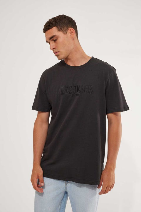 Lee Classic Tee Eclipse Washed Black