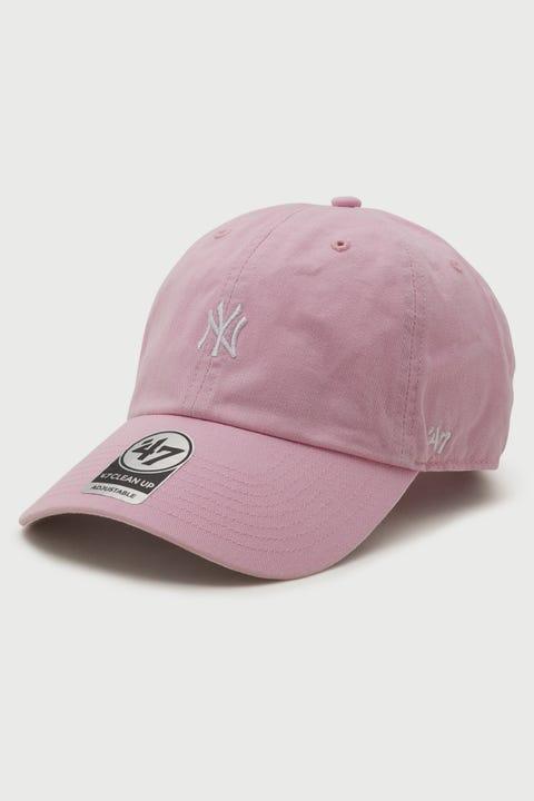 47 Brand NY Yankees Base Runner '47 Clean Up Petal Pink