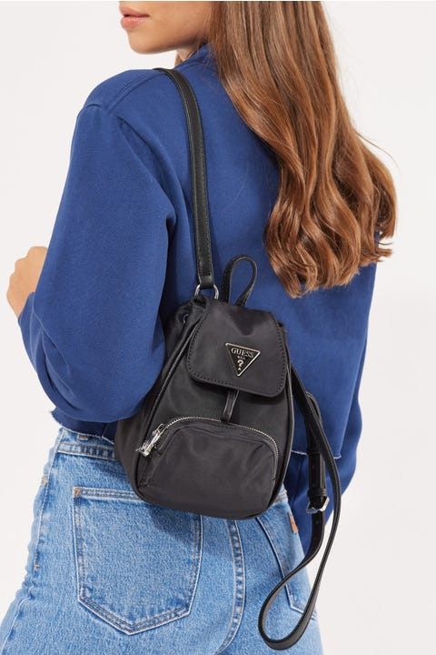 Guess Originals Little Bay Mini Backpack Black