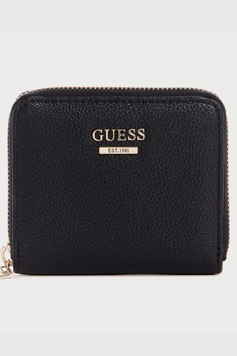 Guess Originals Sandrine Small Zip Around Black