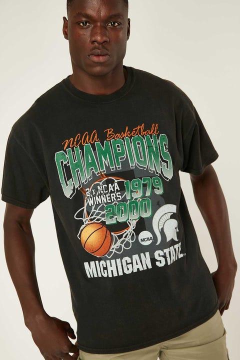 Ncaa NCAA Bball Slam Tee Washed Black