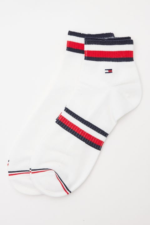 Tommy Jeans Pete Quarter Sock White