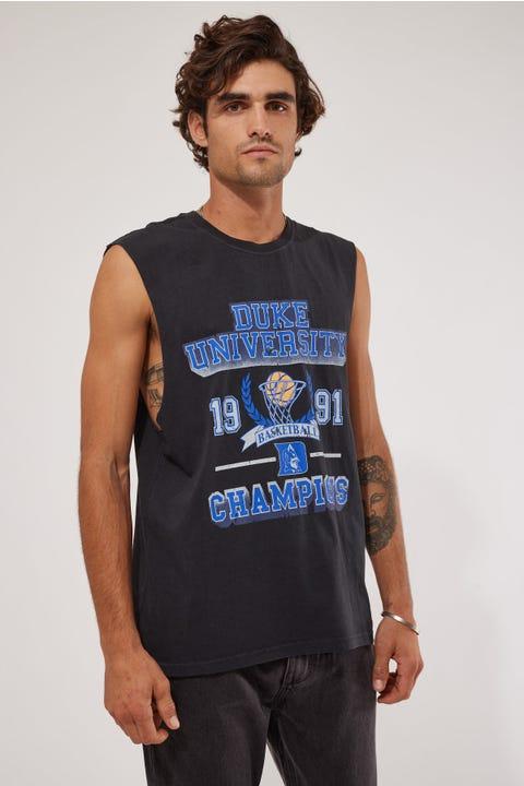 Ncaa Vintage Champs Duke Muscle Vintage Black