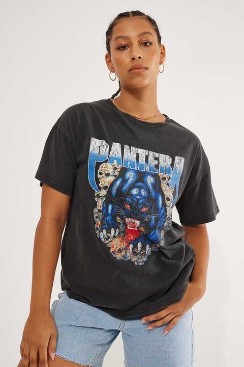 Bravado Pantera Tee Washed Black