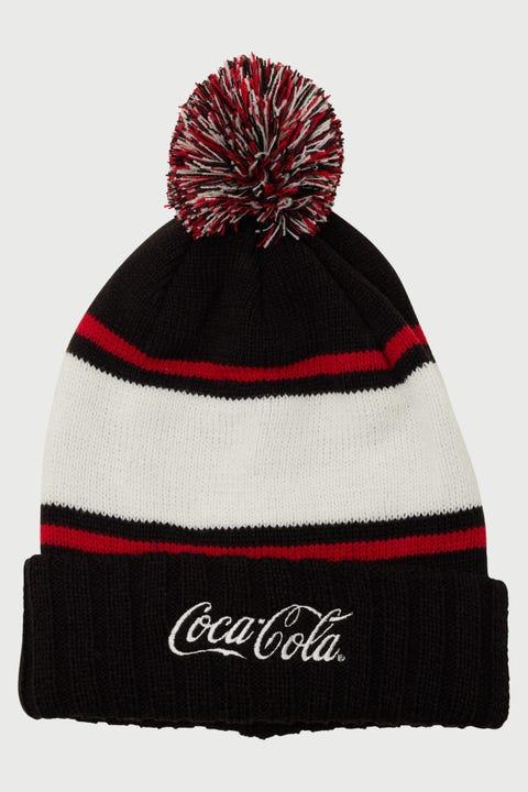 American Needle Coca Cola Pillowline Beanie Black