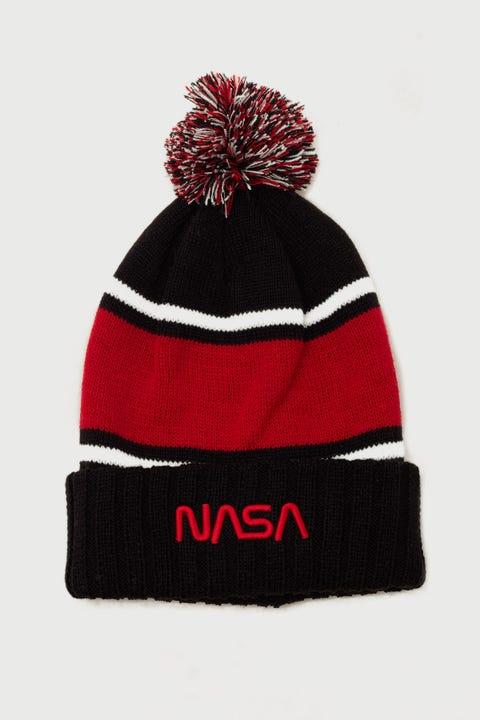 American Needle NASA Pillowline Lofted Beanie Black