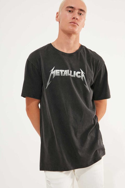 Sunnyville Metal Tee Washed Black