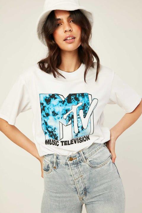 Sunnyville MTV Tee White
