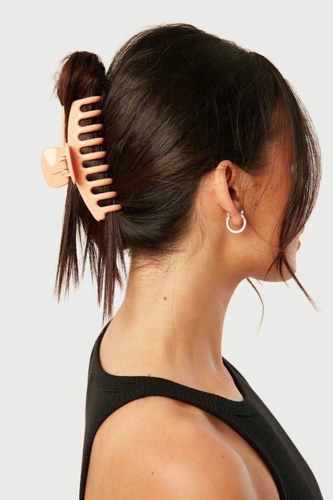 Token Hold Me Hair Claw Orange