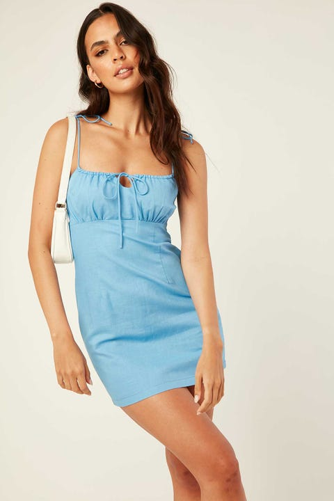 PERFECT STRANGER Big Ambition Dress Blue