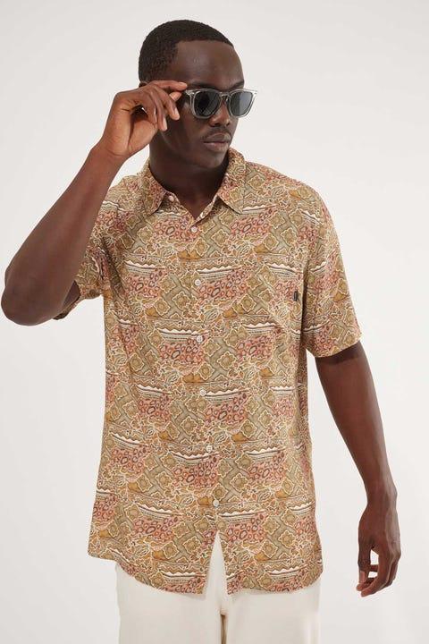 Barney Cools Holiday Shirt Sage Boho Boho Multi