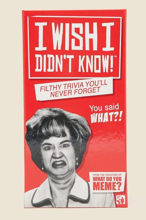 I Wish I Didn't Know!