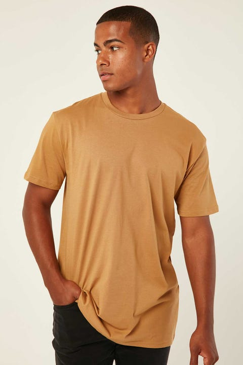 AS COLOUR Staple Tee Camel