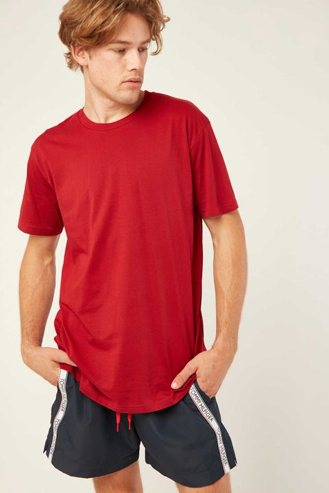 AS COLOUR Staple Tee Cardinal