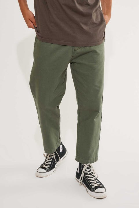 Thrills Deconstructed Ops Pant Lume Green