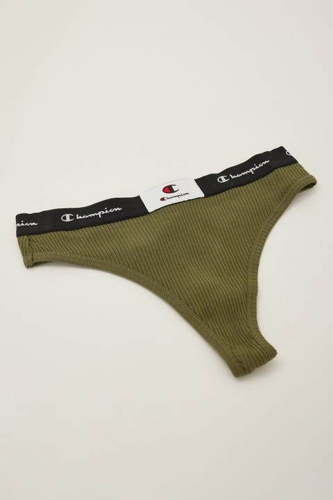 Champion Ribbed Gee Cargo Olive