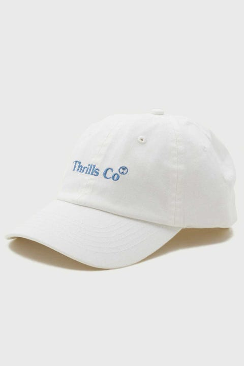 Thrills Service Palm Cap Dirty White/Steel Blue Embro