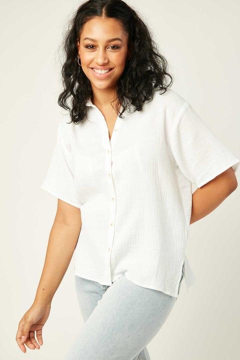 PERFECT STRANGER On Chill Shirt White