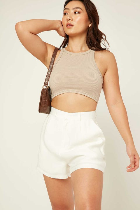 Perfect Stranger Paris Short White
