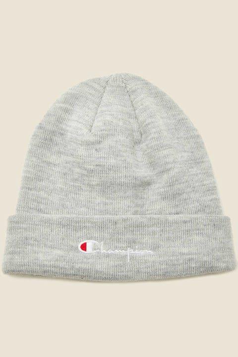Champion C Life Script Cuff Beanie Oxford Heather