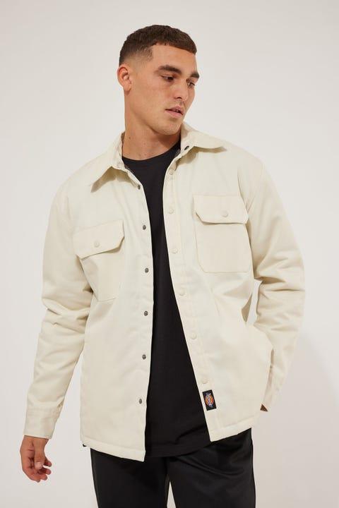 Dickies Lined LS Shirt Jacket Bone