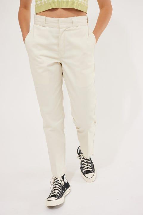 Dickies Original Tapered Fit Cropped Pant Bone