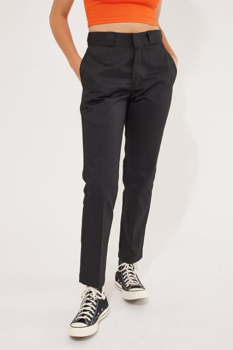 Dickies Original Tapered Fit Cropped Pant Black