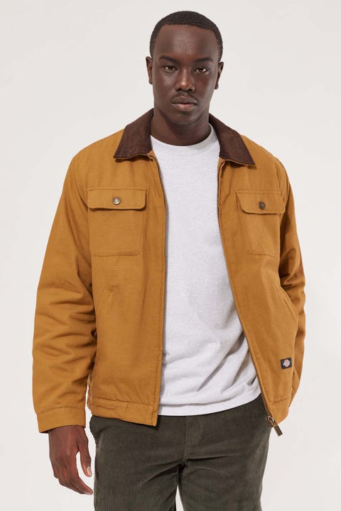 Dickies Alton Garage Jacket Brown Duck
