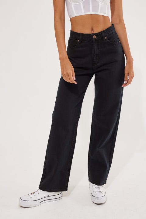 Abrand A Slouch Jean Black