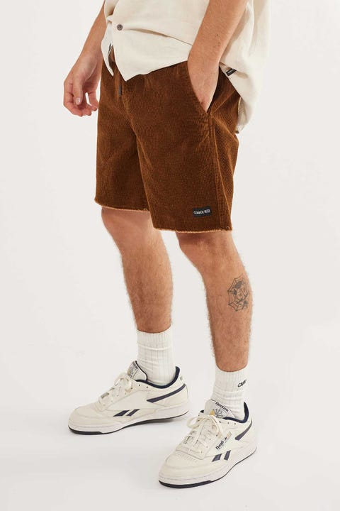 Common Need Zephyr Cord Short Brown