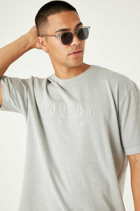 Common Need Sense Tee Grey