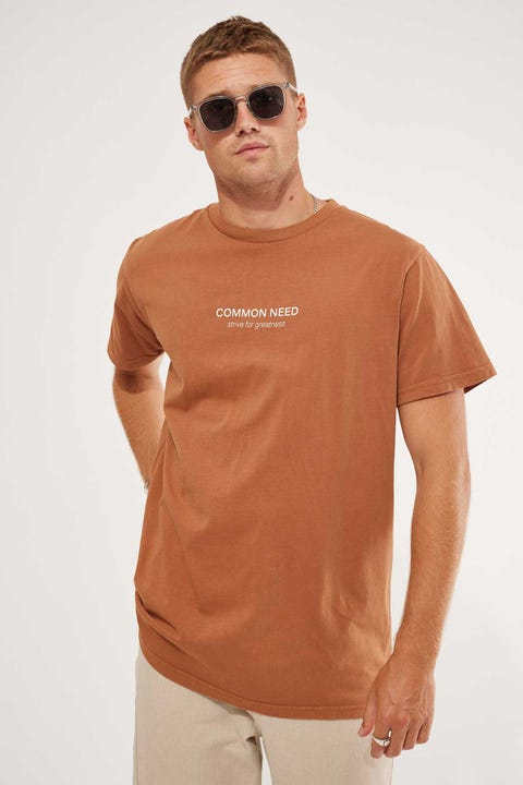Common Need Glacial Tee Amber