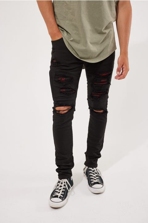 Kiss Chacey Midtown Skinny Jean Buffalo Black