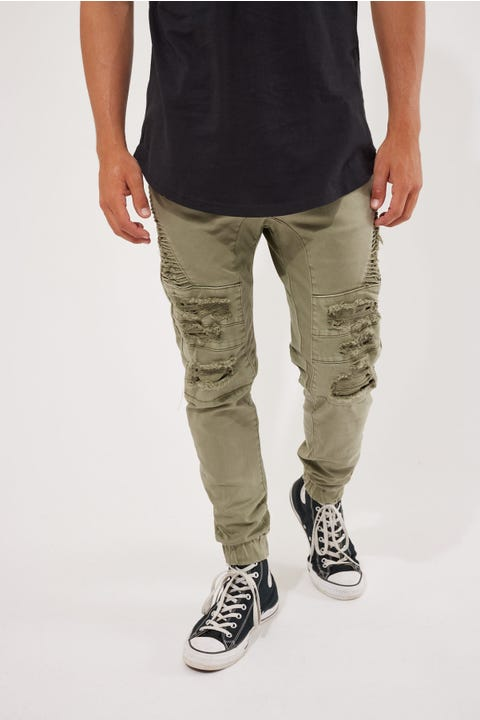 Kiss Chacey Hydra Denim Jogger Lichen Green