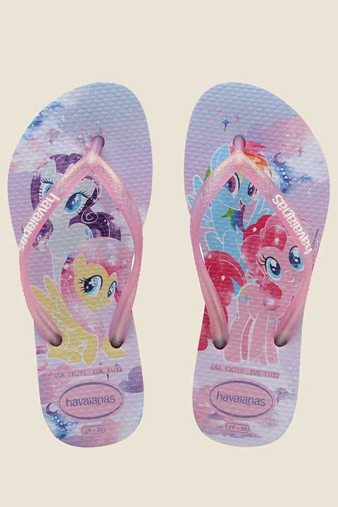 Havaianas Kids Slim My Little Pony Lavender