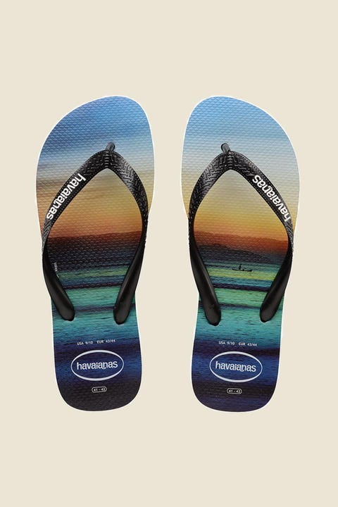 HAVAIANAS Top Hype Black/White/Black