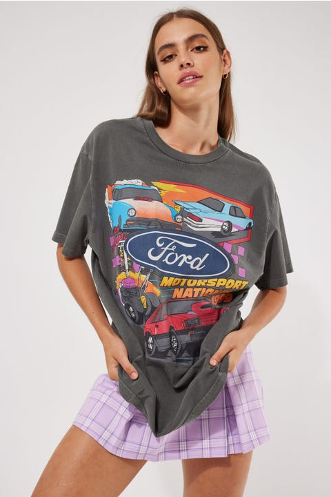 Rolla's Ford Nationals 99 Tee Washed Black